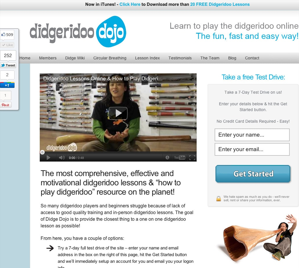The Didgeridoo Dojo