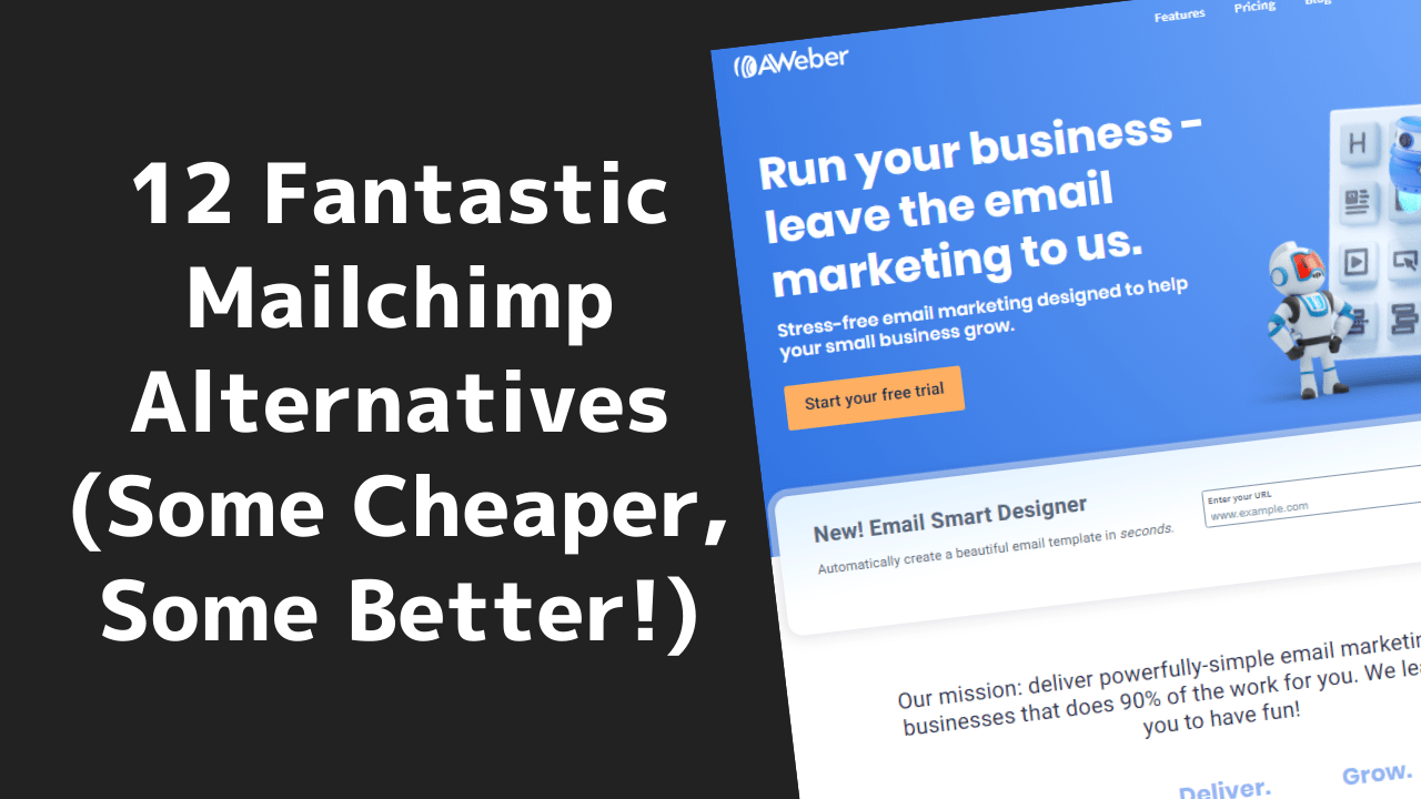 12 Fantastic Mailchimp Alternatives