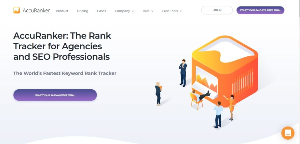 AccuRanker rank tracker local SEO tool
