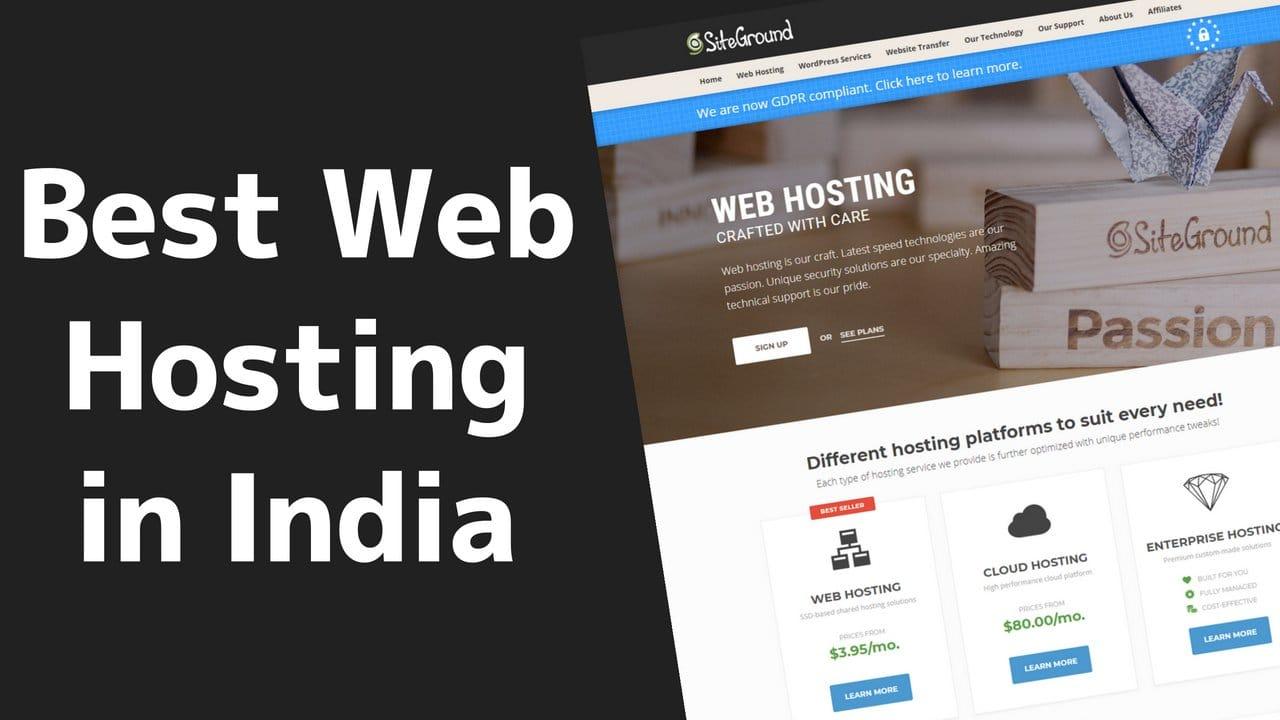 Best Web Hosting in India 3 2020