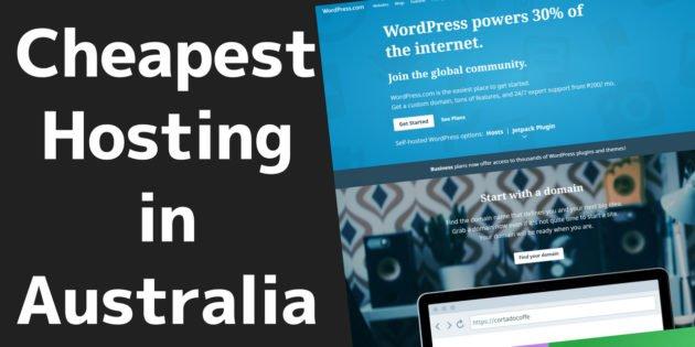 Cheap Web Hosting for Australia 1 2020