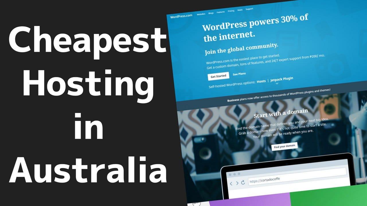 Cheap Web Hosting for Australia 3 2020