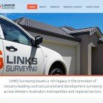 Small Business Web Design: Links Surveying Perth