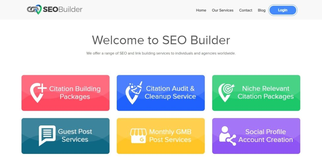 SEOBuilder local SEO tool and service provider