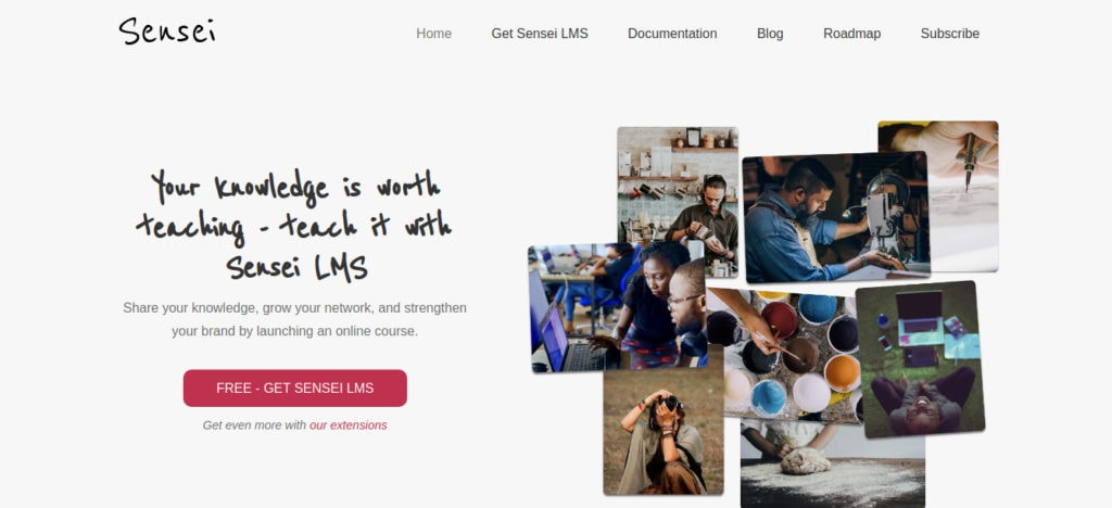 Sensei WordPress LMS Plugin