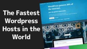 The Fastest WordPress Hosting Worldwide