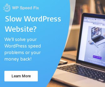 WP Speed Fix Service Wordpress Speed Optimization Service - Your Wordpress Problems Solved or Your Money Back