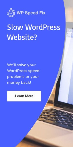 WP Speed Fix WordPress Speed Optimization Service