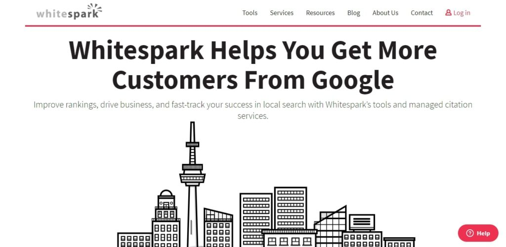 Whitespark local SEO service provider