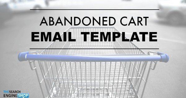 Abandoned Cart Email Template 1 2020