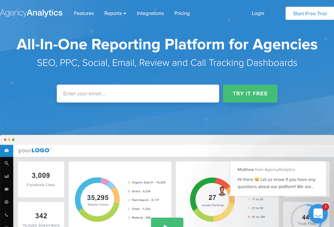 Best Website Reporting Tools for SEO, Performance & KPIs 15 2020