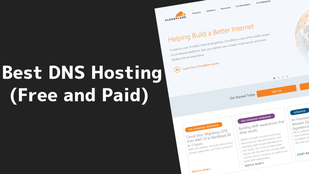 Best DNS Hosting Providers (Free and Paid) 3 2020