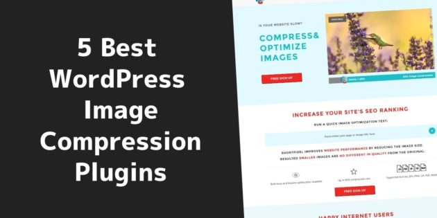 Best WordPress image compression plugins
