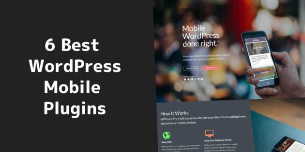 Best WordPress mobile plugins