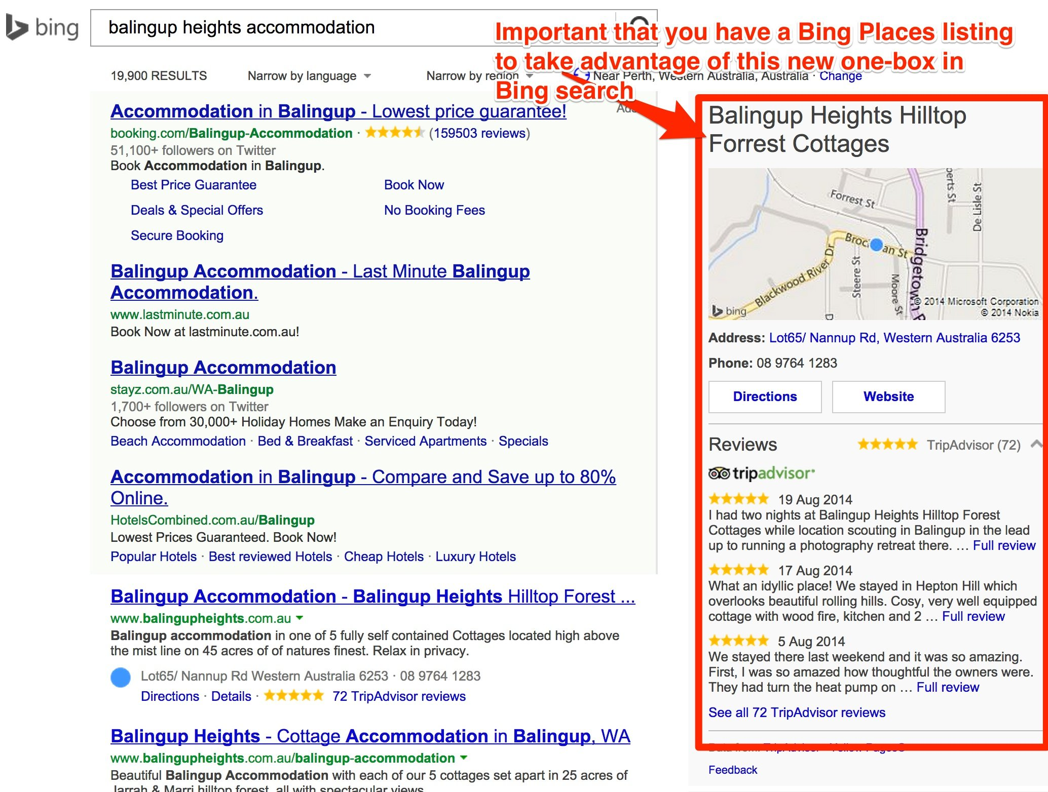 Microsoft Bing search now has a