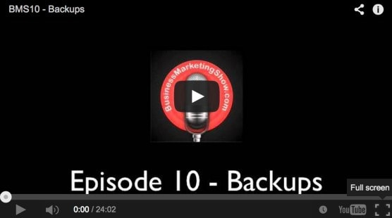 Business Backup Strategy