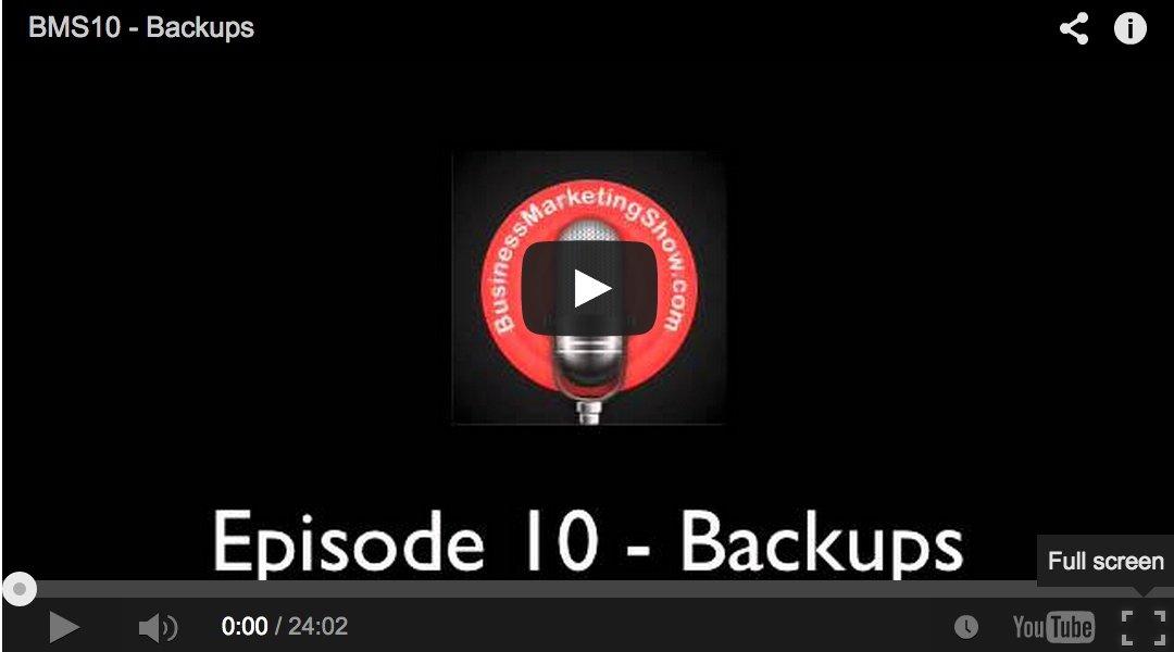 Business Backup Strategy