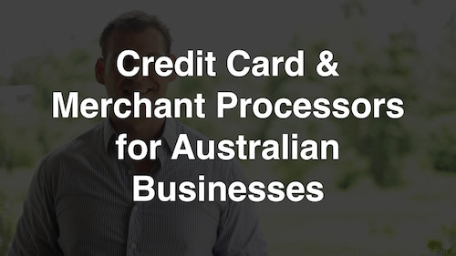 Taking Credit Card Payments Online in Australia 1 2020