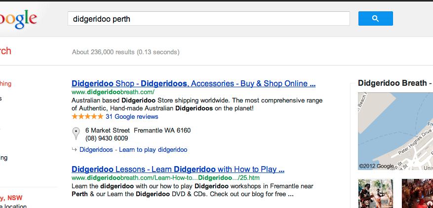 Client Results: DidgeridooBreath.com 1 2020