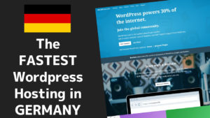 Fastest Wordpress Hosting in Germany 1 2020