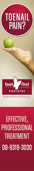 Feet First Podiatry - 120x600 resolution format
