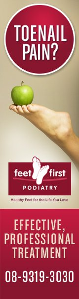 Feet First Podiatry - 160x600 resolution format
