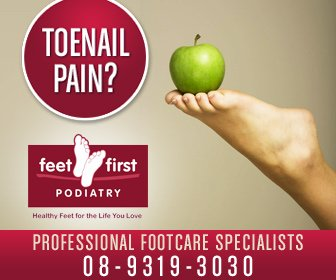 Feet First Podiatry - 336x280 resolution format