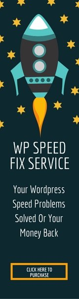WP Speed Fix Service - Your Wordpress Problems Solved or Your Money Back