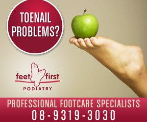 Feet First Podiatry - 300x250 resolution