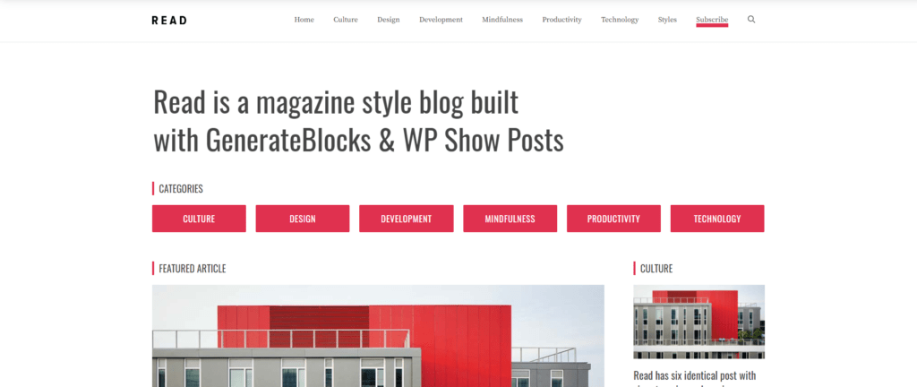 GeneratePress WordPress Theme Review - The Best Choice in 2020? 7 2020
