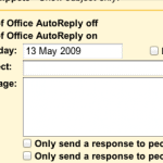 Set an Out of Office reply or Vacation Responder in Google Apps email
