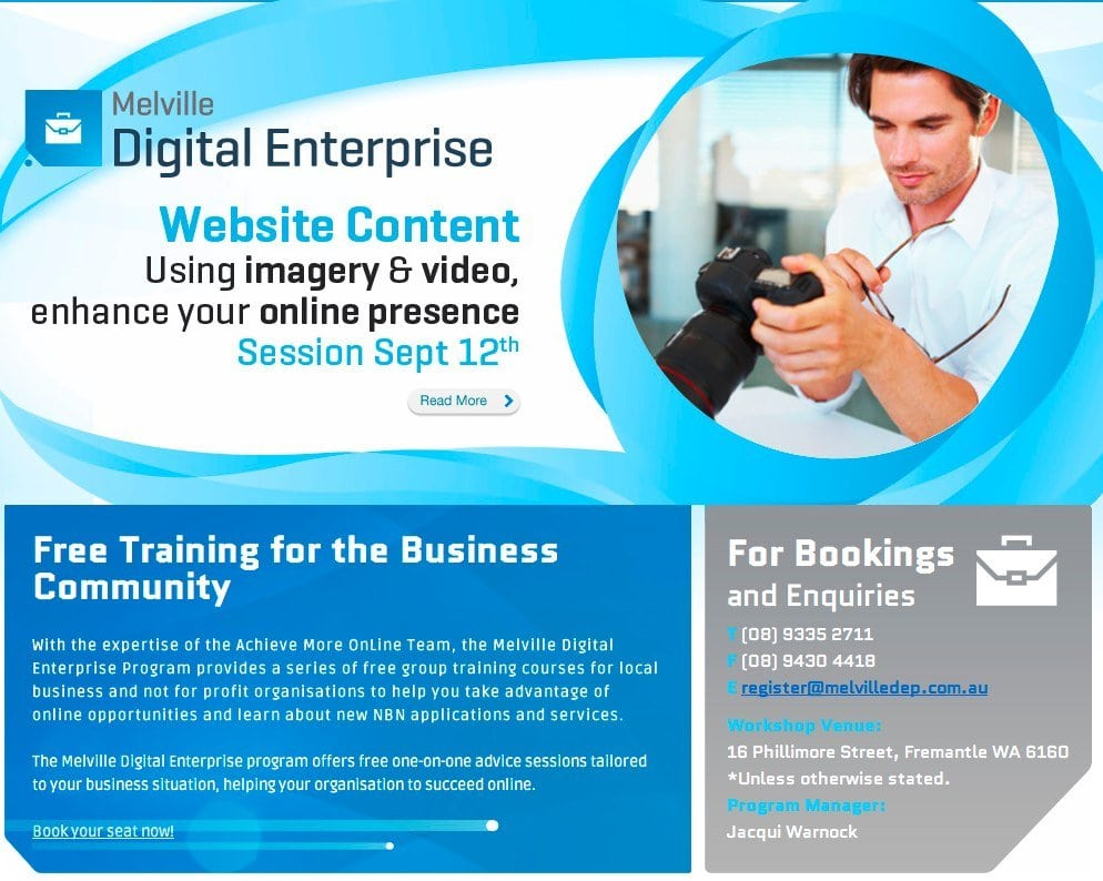 Perth Small Business Workshops - September & October 2012 1 2020
