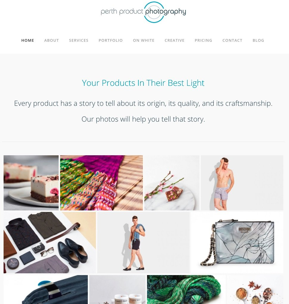 Small Business Search Engine Optimisation for Perth Product Photography