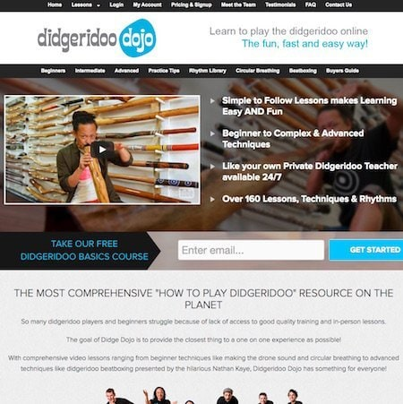 Ecommerce SEO for Didgeridoo Dojo