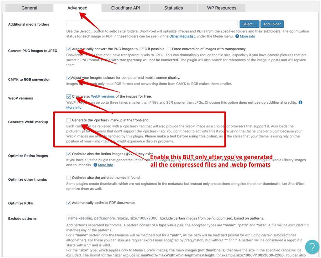 How to Serve Images in Next-Gen Formats in WordPress 12 2020