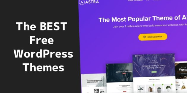 The best free WordPress themes