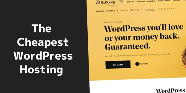 The cheapest WordPress hosting