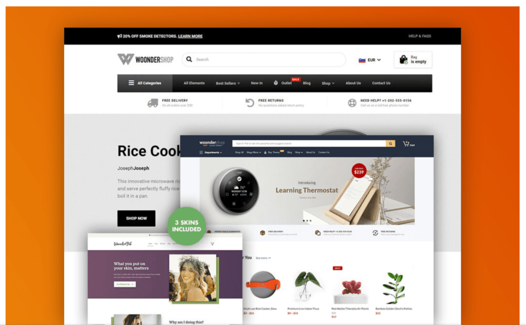 The Fastest & BEST WooCommerce Themes in 2020 (FREE & Paid) 32 2020