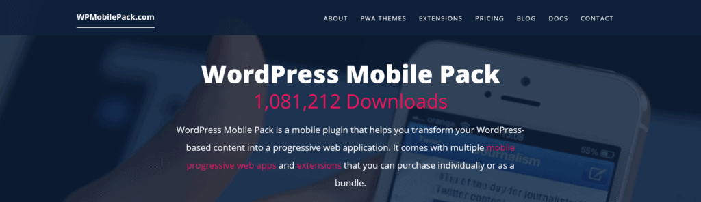 6 Best WordPress Mobile Plugins (2020) 7 2020